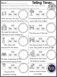 christmas activities for first grade math worksheets and literacy