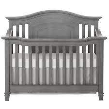 amazon com evolur fairbanks 5 in 1 convertible crib storm grey