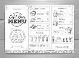 100 design u0026 templates menu templates a4 menu templates
