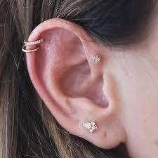 diamond helix stud 231 best jewellery images on piercings piercing ideas