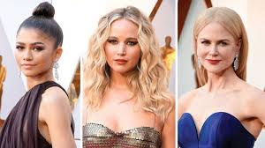 hair makeup oscars 2018 best hair style at oscars best make up looks at