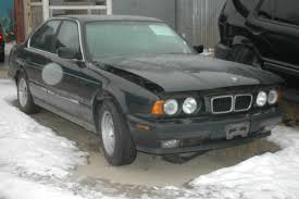 bmw e34 530i aug 1993 m60 5 spd manual black on black ge53649