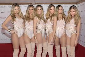 heidi klum u0027s halloween costume was six clones of herself