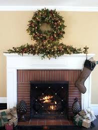 fireplace ornament with named uk homebase tree