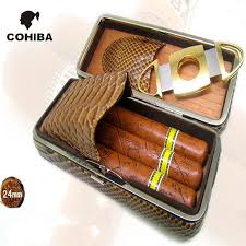cigar gift set aliexpress buy leather cigar gift set 3 humidor cigar