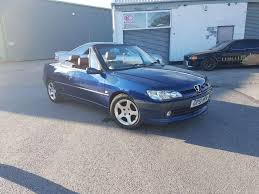 peugeot 306 convertible peugeot 306 cabriolet in china blue with hardtop in kirkby in