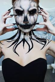 horrifying halloween costumes best 25 scary makeup ideas on pinterest horror makeup creepy