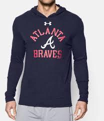 Infant Atlanta Braves Clothes Men U0027s Atlanta Braves Charged Cotton Tri Blend Hoodie Under