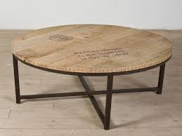 round metal coffee table elegant industrial coffee table with