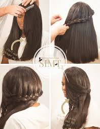 How To Braid Extensions Into Your Hair by Hair Tutorial Side Down Braid Style Is My Thing
