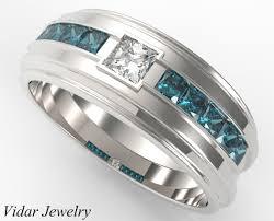 mens princess cut diamonds wedding ring vidar jewelry unique unique princess cut wedding ring for a vidar jewelry
