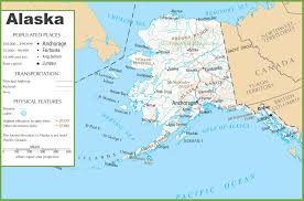 Maps Of Alaska by Alaska State Maps Usa Maps Of Alaska Ak