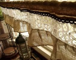 Rustic Curtains And Valances Farmhouse Valance Etsy