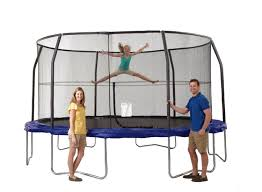 marvelous best rated backyard trampoline part 9 skywalker