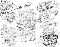 pictures gangsta tattoo drawings drawing art gallery