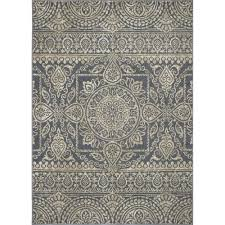 3 X 4 Area Rug Concord Global Trading Chester Scroll Blue 3 Ft 3 In X 4 Ft 7