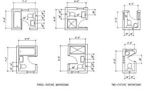 Floor Plans With Measurements 6 Option Dimension Small Bathroom Floor Plans Layout Great For