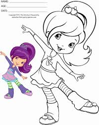strawberry shortcake coloring pages sufudvrlistscom throughout