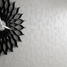 checker white tile wallpaper geometric wall coverings by graham