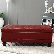 Storage Bench Ottoman Red Storage Bench U2013 Vcomimc
