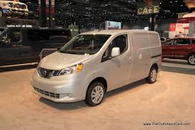 nissan cargo van black chicago auto show 2014 nissan nv200 the truth about cars