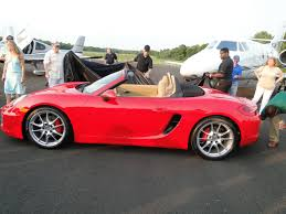 Porsche Boxster Old - world wide stereo makes some noise at porsche boxster launch party