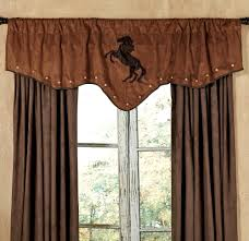 Valance And Drapes Western Curtains And Window Treatment Lone Star Western Décor