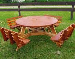 Octagon Picnic Table Plans Free Free Garden Plans How To Build by Best 25 Round Picnic Table Ideas On Pinterest Outdoor Picnic