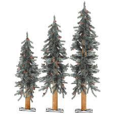 sterling alpine unlit artificial tree set 2511 234 do it best
