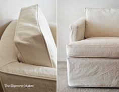 Affordable Slipcovers Beach House Slipcovers In Natural Cotton Duck 12 Weight From Big