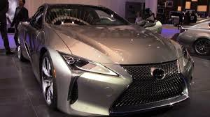 lexus sport plus 2017 price 2018 lexus lc500 360 close detail walkthrough naias 2017