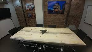 Live Edge Boardroom Table Wegner Custom Furniture Custom Wood Furniture Conifer Colorado