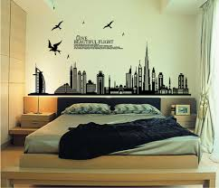 online shop black city silhouette cityscape skyscraper wall decals online shop black city silhouette cityscape skyscraper wall decals living room bedroom removable wall stickers murals aliexpress mobile