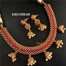 fashion design necklace images Designer bollywood inspired semi precious stone maroon colour jpg
