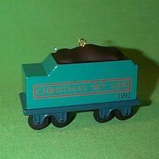 1992 hallmark ornaments sky line caboose 25 00 mib
