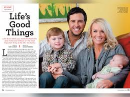 luke bryan and family s things 2010 nash country daily