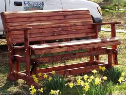5ft Garden Bench Cedar Garden Benches Sliders Church Pews Red Cedar Or Redwood