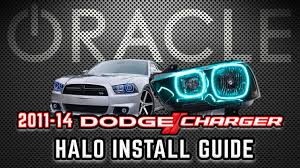 halo lights for 2013 dodge charger oracle lighting halo install guide 2011 2014 dodge charger on vimeo