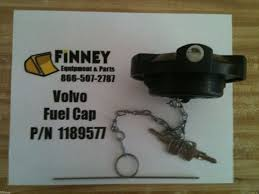 volvo locking fuel cap with keys 1189577 a35 a45 l120c truck