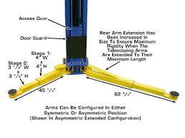 atlas pv 10p overhead 10 000 lbs capacity adjustable height 2
