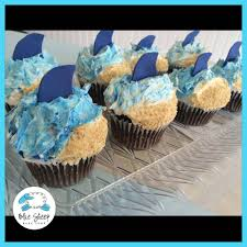 shark week cupcakes by the queen u0027s cups in millbury cupcakes