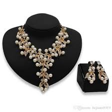 crystal bead necklace jewelry images 2018 zeal wholesale handmade 2018 nigerian wedding african beads jpg