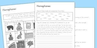 worksheets australia homophones worksheets sheet