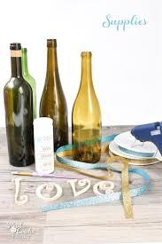 Diy Wine Bottle Decor by Wine Bottle Crafts
