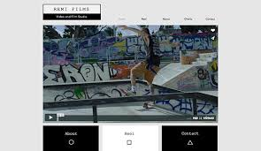 templates for video website video website templates wix 2