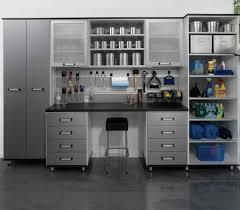 Garage Shelving System by Garage Storage Shelving System White Brushed Aluminum Melamine