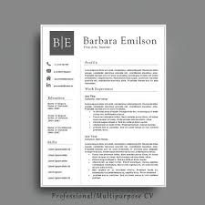 Educational Resume Template 20 Best Professional Resume Templates Images On Pinterest