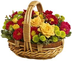 flower basket colorful flower basket dubai free dubai delivery
