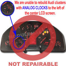 audi a4 a6 s4 s6 2000 2004 instrument cluster rebuild with
