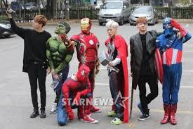 Avengers Halloween Costumes Got7 U0027s Mark Charms Fans Transforming Spiderman